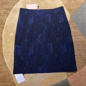 MM Lafleur Skirts - MM LaFleur Noho skirt in brushed jacquard size 10